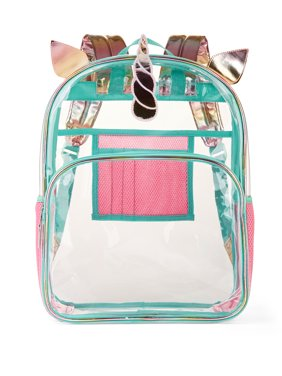 309bb2d658 Product Image Wonder Nation Clear Kids Backpack