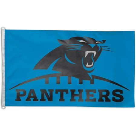 NFL Carolina Panthers Team Flag, 3' x 5', Style 2