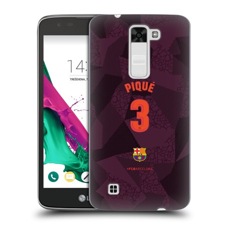 OFFICIAL FC BARCELONA 2017/18 PLAYERS THIRD KIT 1 HARD BACK CASE FOR LG PHONES 3