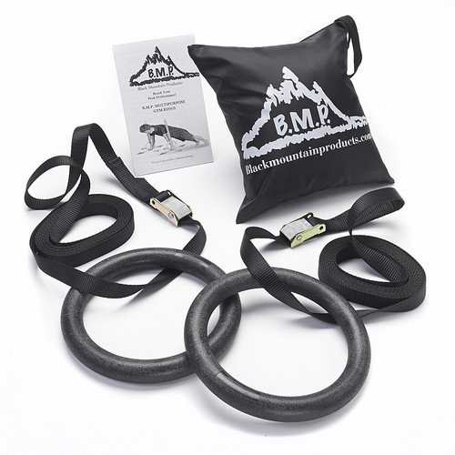 Black Mountain Products 1200lb Exercise Gymnastics Rings