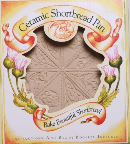 Brown Bag Design British Isle Shortbread Cookie Pan, 11-1 4-Inch by 9-1 4-Inch by