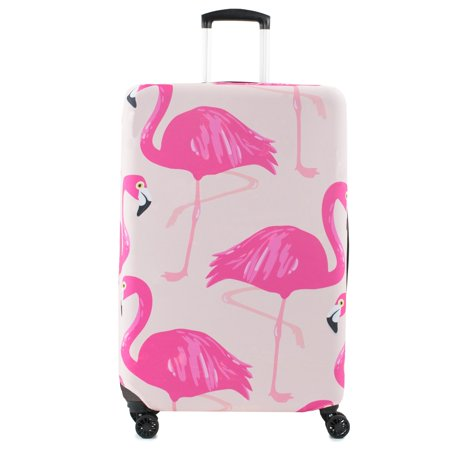 Print 28-30 in. Spinner Luggage Cover, -