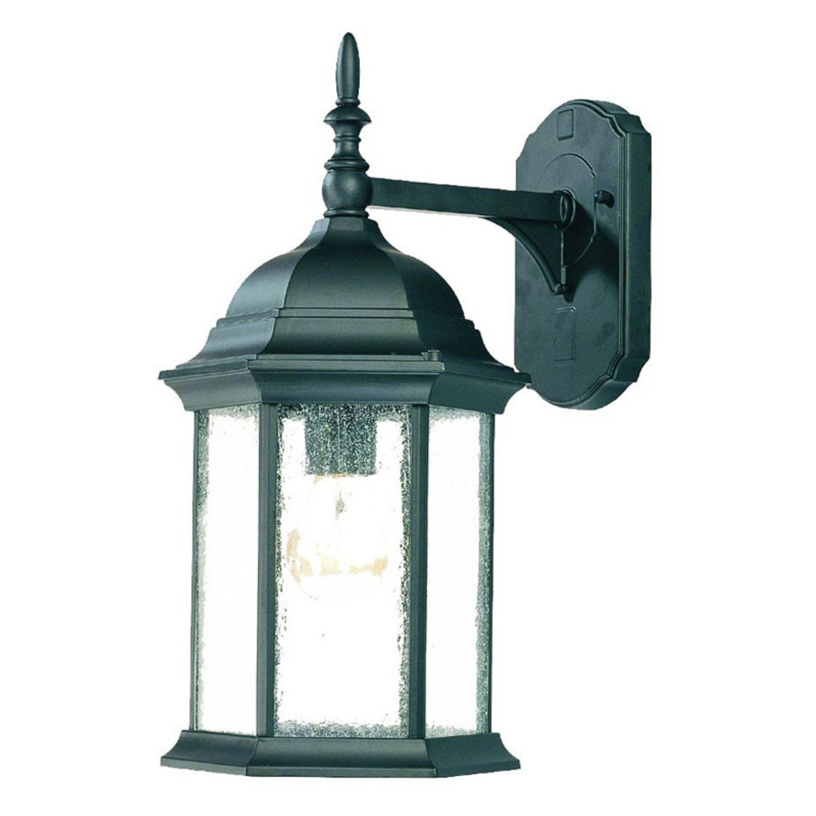 Acclaim Lighting Outdoor Wall Lights Acclaim Lighting Craftsman 1 Light Outdoor Wall Mount Light Fixture -  Walmart.com