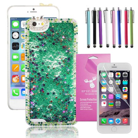 Green Falling Star - For iPhone 6/6S Plus 5.5
