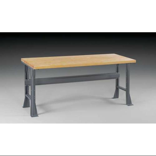 "TENNSCO WB-1-3072W Workbench,Butcher Block,72"" W,30"" D G5586917"