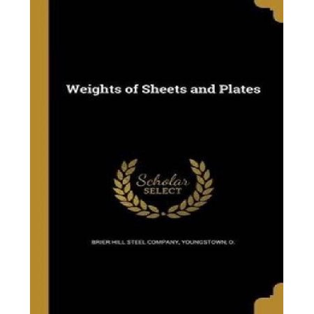 Weights of Sheets and Plates - image 1 de 1