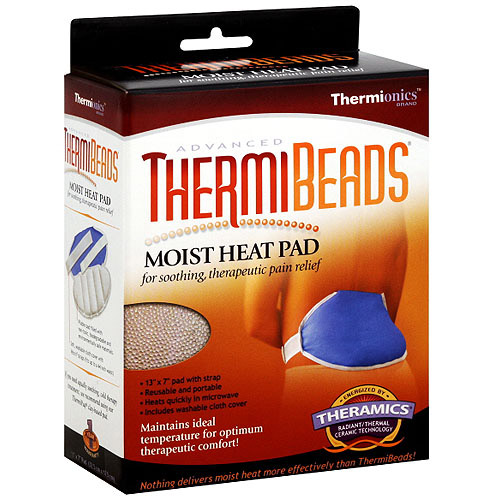 Thermionics Corp Thermibeads Moist Heat Pad Back