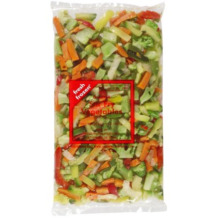 how to make frozen vegetable stir fry