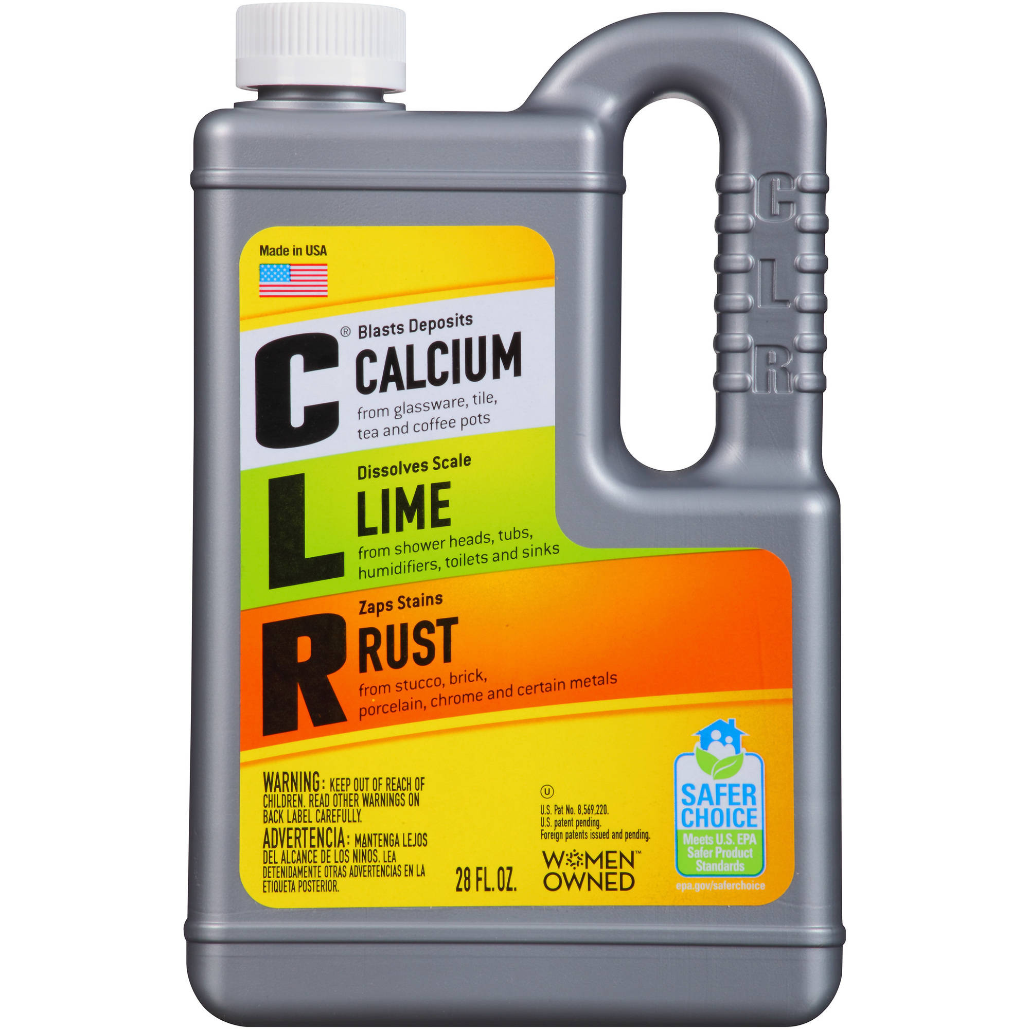 CLR Calcium, Lime & Rust Remover, 28 fl oz