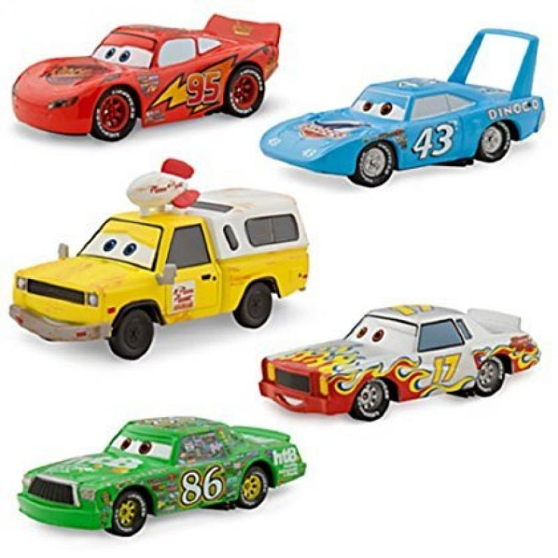 Disney   Pixar CARS Movie Exclusive 1:43 Die Cast Car 5-Pack Piston Cup [Lightning McQueen, Chick Hicks, Pizza... by