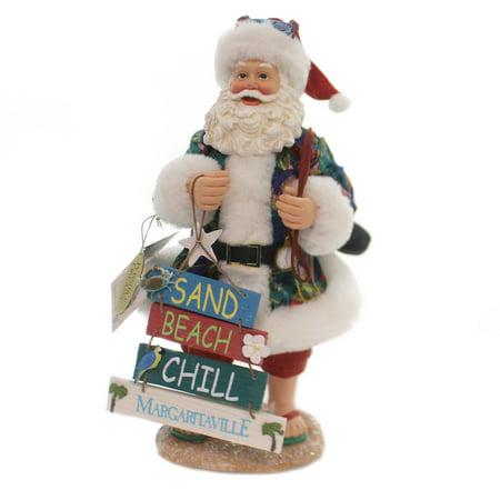 Possible Dreams THIS WAY TO MARGARITAVILLE Beach Sand Ocean Santa (Possible Dreams Sleigh)