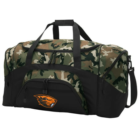 Oregon State CAMO Duffel Bag OSU Beavers GYM BAG (Oregon Gym Bag)