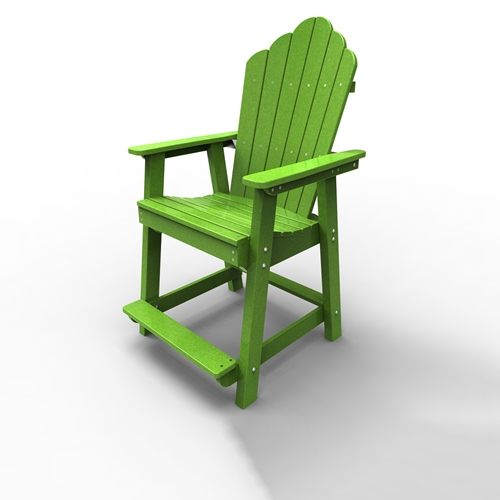 Counter Chair by Malibu Outdoor - Yarmouth, Lime