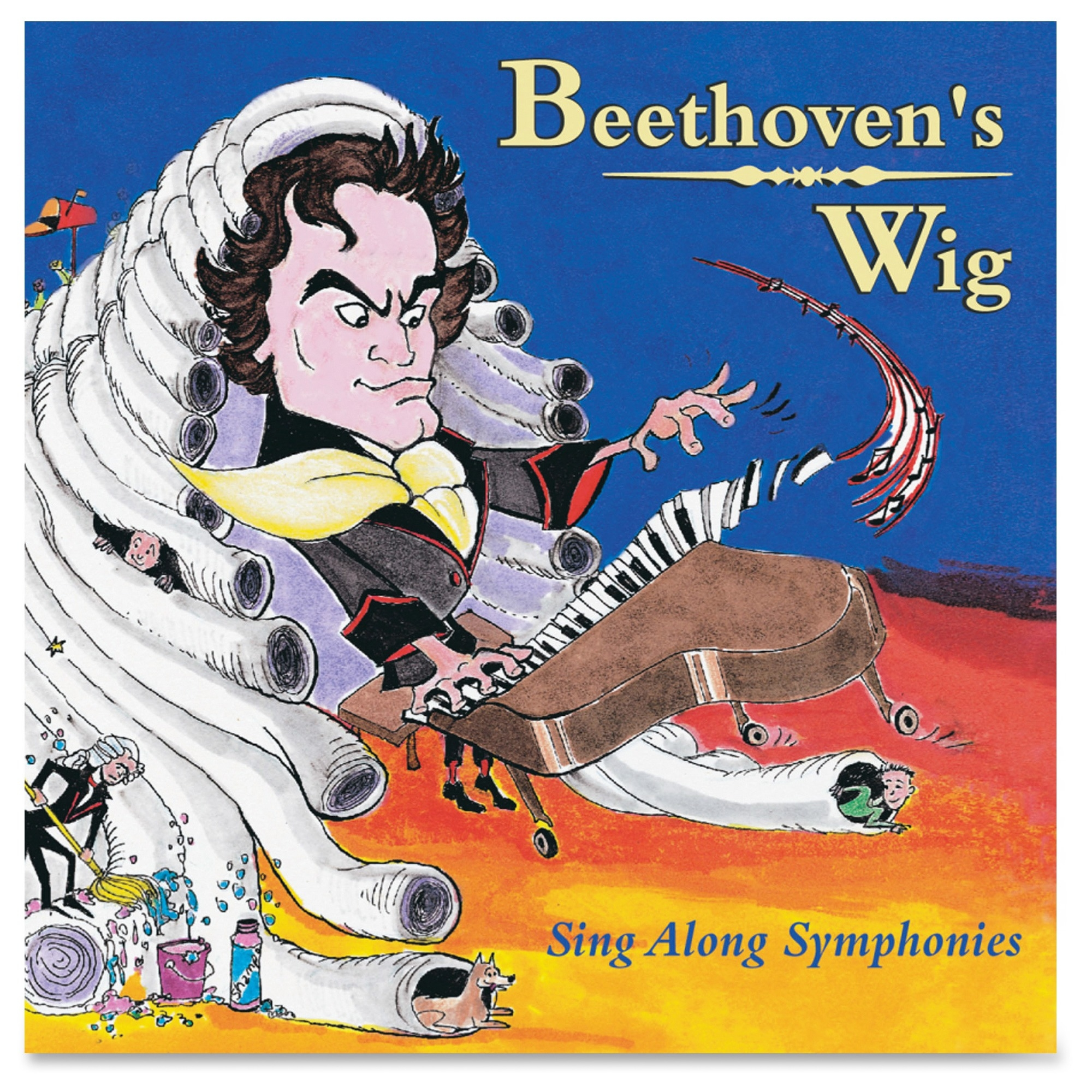 Flipside Sing Along Beethoven's Wig Cd - Music Training Course - Cd (m10280)