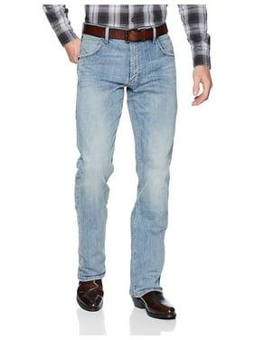 a804149d Product Image Wrangler Men's Retro Slim Fit Bootcut Jean, Bearcreek, 38x32