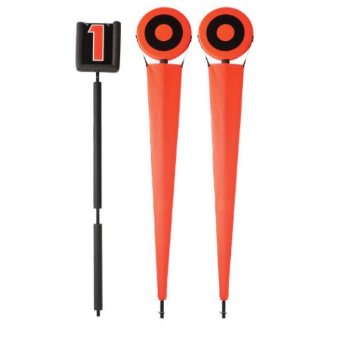 Football J.V. Chains and Down Indicator Set by Pro Down, Orange