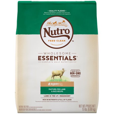 Nutro Wholesome Essentials Puppy Dry Dog Food Pasture Fed Lamb
