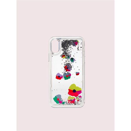 Kate Spade New York Collage Liquid Glitter iPhone Xs Max Case