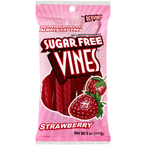 Red Vines Sugar Free Strawberry Licorice Twists, 5 oz