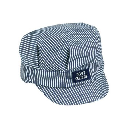 Train Engineer Cap in Blue and - Engineer Caps