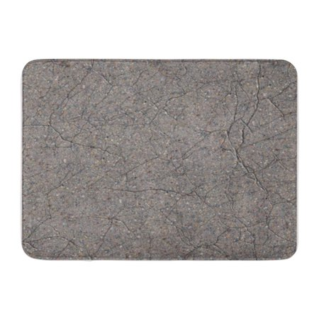 LADDKE Gray Stone Cracked Grey Concrete Tileable Architecture Building Cement Doormat Floor Rug Bath Mat 30x18 (Best Shoes To Wear On Concrete Floors)