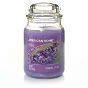American Home by Yankee Candle Sweet Lilac, 19 oz Large Jar