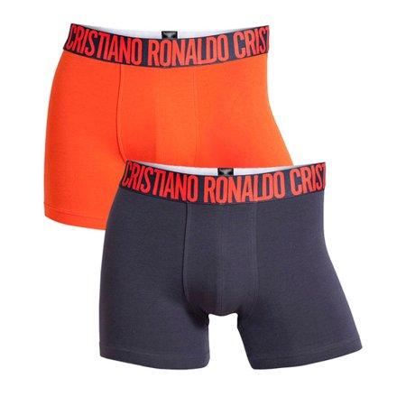 7dabdcf4 Cristiano Ronaldo CR7 - Cristiano Ronaldo CR7 2-Pack Trunk Boxer Briefs  Men's Underwear XX-Large - Walmart.com