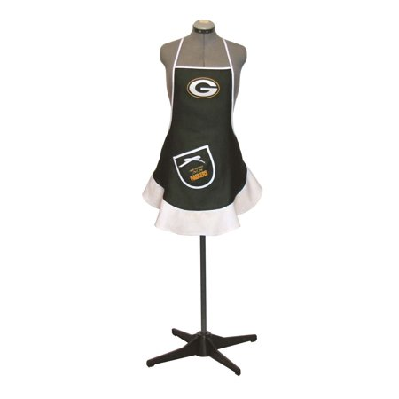 - Hostess Apron for women - NFL - Green Bay Packers, Officially licensed NFL product and manufactured by Pro Specialties Group Inc. By Pro Specialties Group