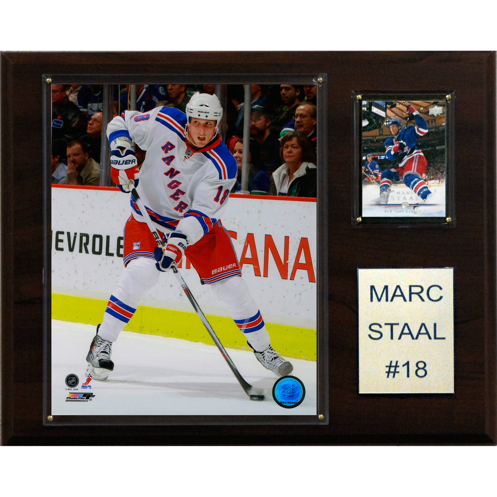 C&I Collectables NHL 12x15 Marc Staal New York Rangers Player Plaque