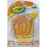 Crayola Sunset Orange Bubble Bath Bar