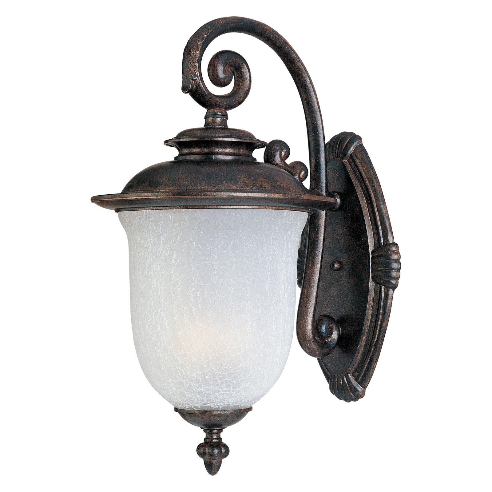 Maxim Cambria Outdoor Wall Lantern - 17.5H in. Cherry