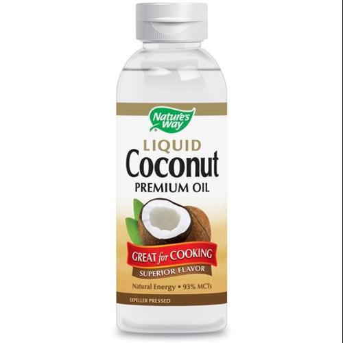 Liquid Coconut Premium Oil Nature's Way 20 oz Liquid