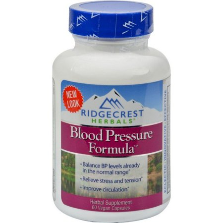 Ridgecrest Herbals Blood Pressure Formula - 60
