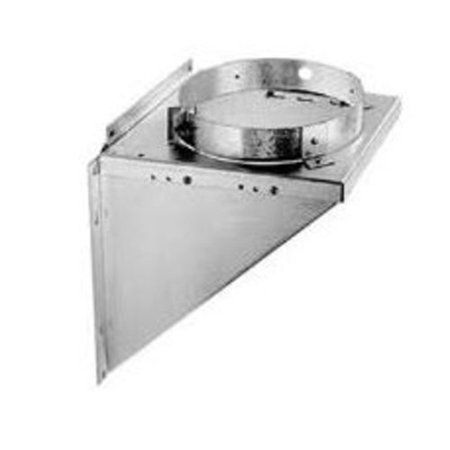 """DuraVent 6DT-TSB 6"""" Inner Diameter - DuraTech Class A Chimney Pipe - Double Wall - 11"""" Strap/Bracket"""