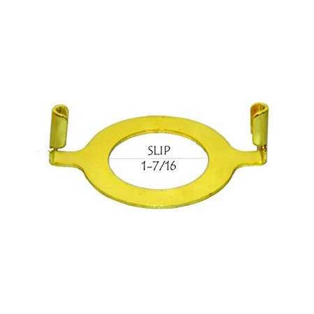 Slip Uno Adapter converts your slip uno fitter to accept a standard lamp harp (Adjustable Hasp)