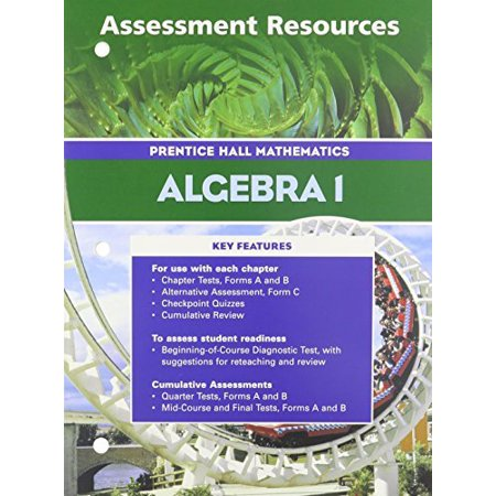 Algebra 1 3rd Edition Assessment Resources 2004c