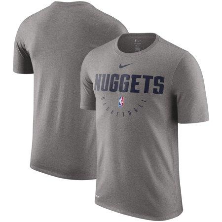 info for 78cd5 14964 Nike - Denver Nuggets Nike Practice Legend Performance T-Shirt - Gray -  Walmart.com