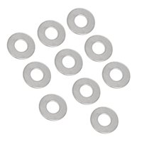 Red Hound Auto 10 Flat Standard Washers Set Fits 5/8 Inch .656 Inch ID Hole Size, 1.5 Inch OD for 304 SS Stainless Steel Corrosion Resistant