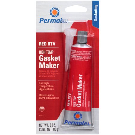 Permatex High-Temp Red RTV Silicone Gasket Marker