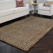 Kosas Home  Handmade Timber Woven Natural Jute Rug (8' x 10')