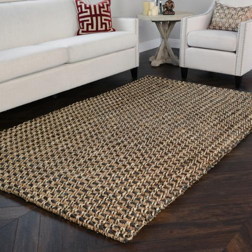 Kosas Home  Handmade Timber Woven Natural Jute Rug (8' x 10')