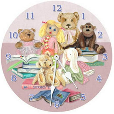 Lexington Studios 23403 - LR Story Time 18 in. Round Clock Lexington Studios Bakers