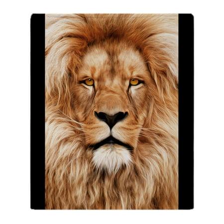 "CafePress - Lion The King - Soft Fleece Throw Blanket, 50""x60"" Stadium Blanket"