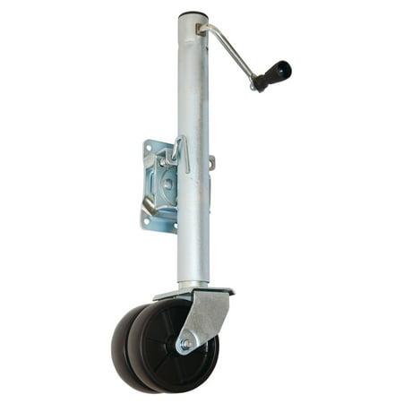 1500 Boat - 1500 lb. Capacity Dual Wheel Swing-Back Boat Trailer Jack