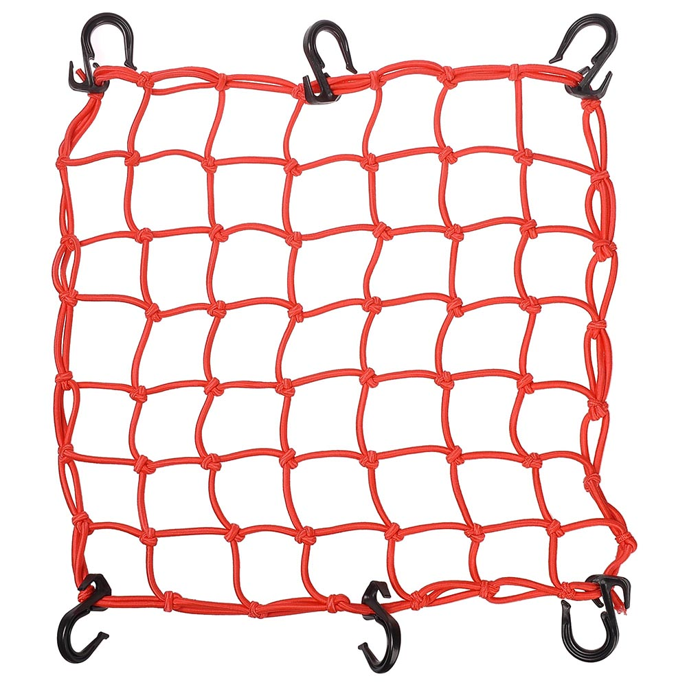 Yescom Cargo Net with Adjustable Hook Stretch Latex Bungee Material