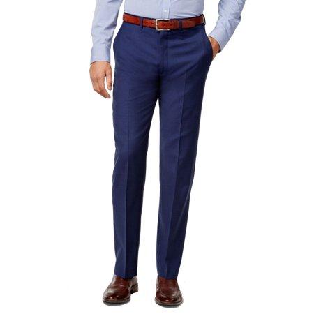 Mens 38X34 Dress - Flat Front Wool Pants