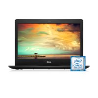 Dell Inspiron 14 3480 Laptop, 14'', Intel Core i3-8145U, 4GB RAM, 1TB HDD, Intel UHD Graphics 620, Windows 10 Home, i3480-3879BLK-PUS