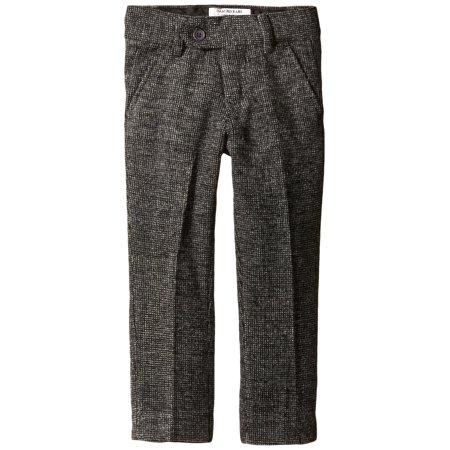 Baby Boys Check Wool Blend Pants 3T