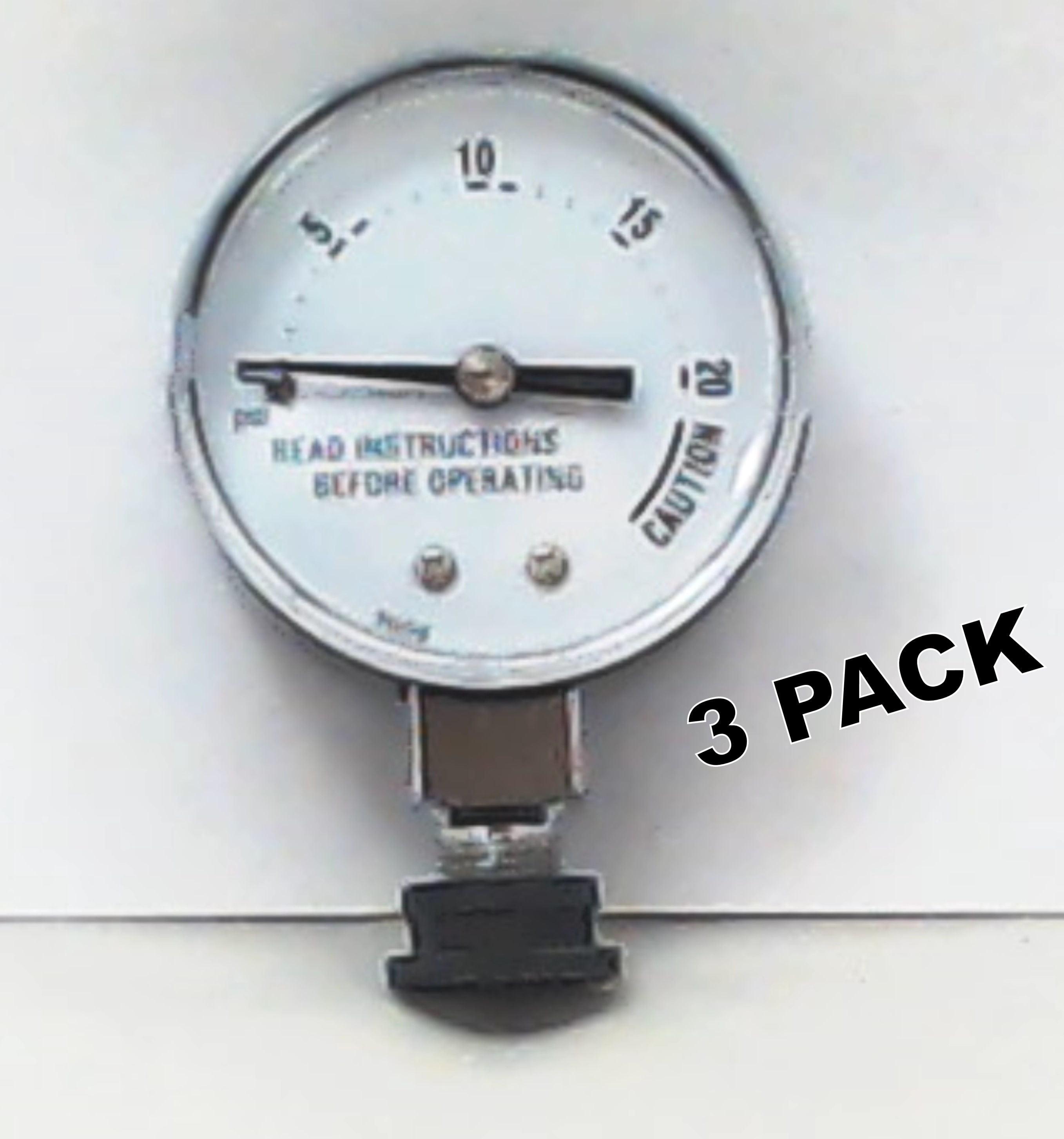 3 Pk Presto Pressure Cooker Steam Gauge 85729 Walmart Com Walmart Com