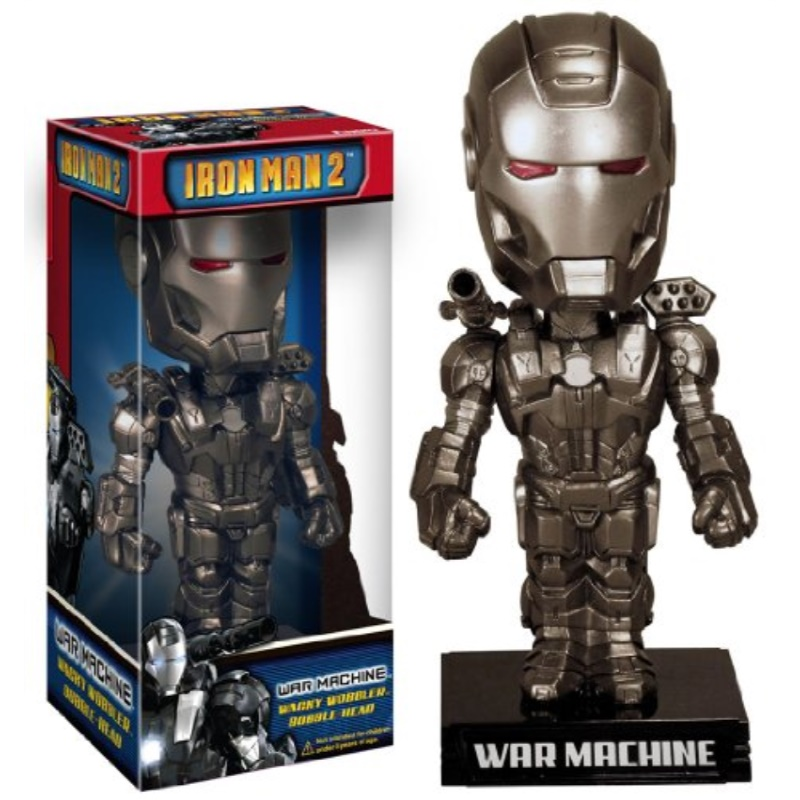 iron man 2: war machine wacky wobbler